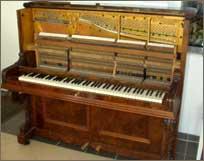Ein Steingraeber-Piano Baujahr 1891 welches von uns komplett überholt wurde.